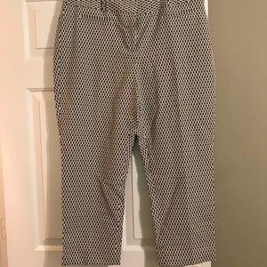Cropped Ann Taylor pants